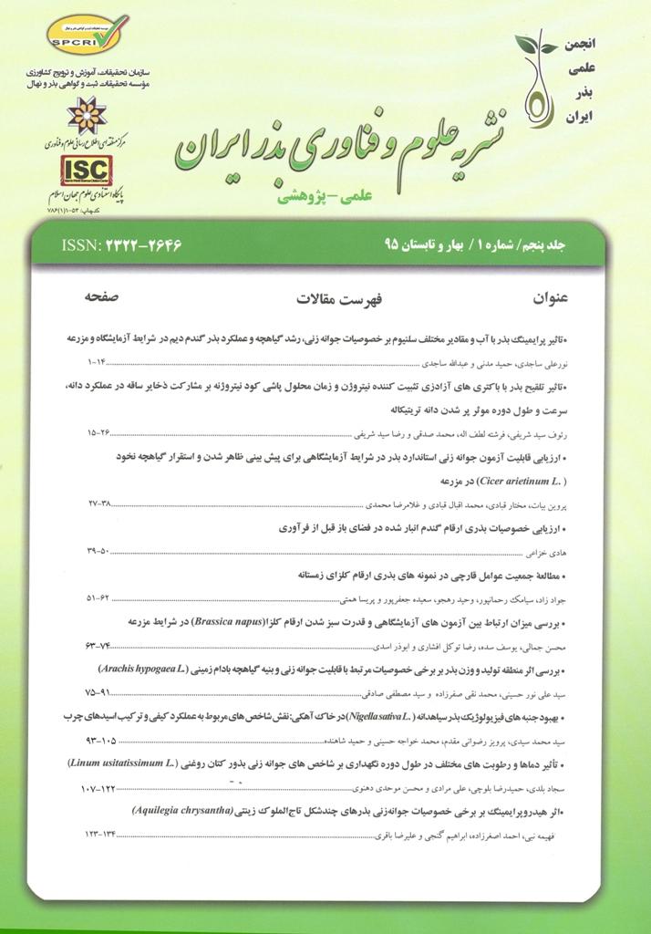 علوم و فناوری بذر ایران